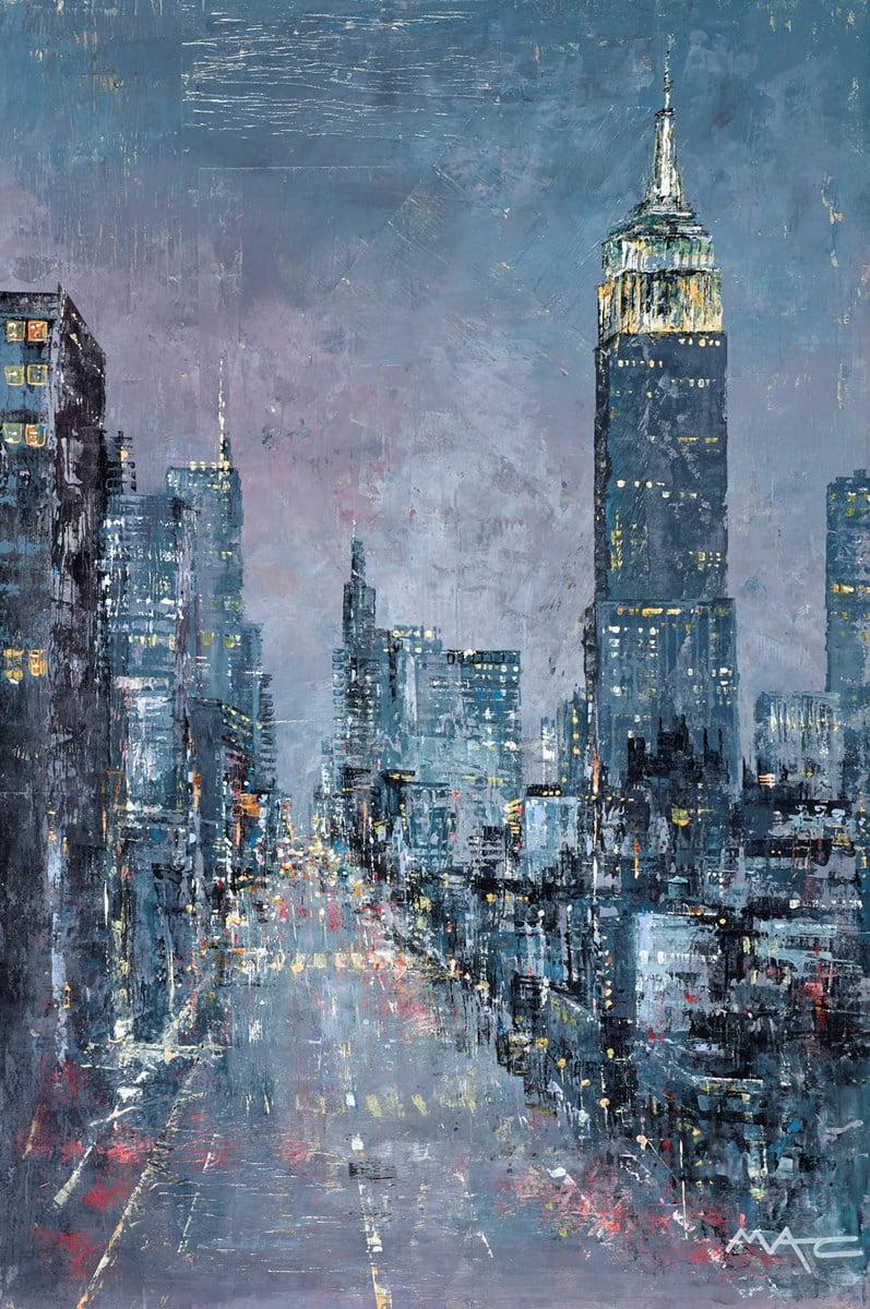 Manhattan Mayhem, NYC ~ Mark Curryer