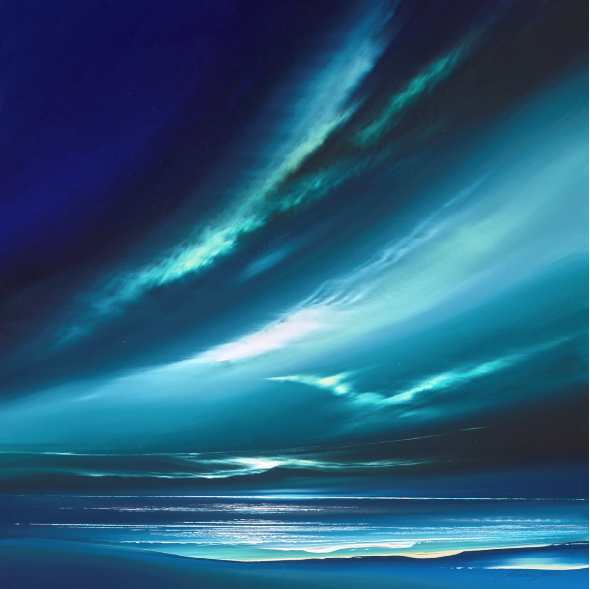 Jade Cloud Skies I ~ Jonathan Shaw