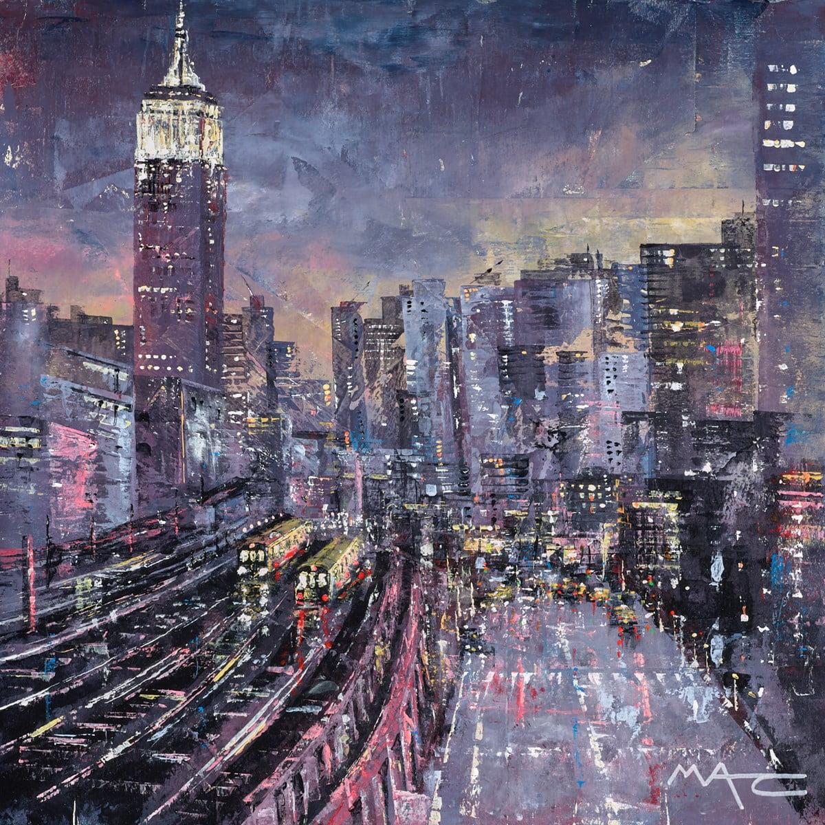 New York Rail ~ Mark Curryer