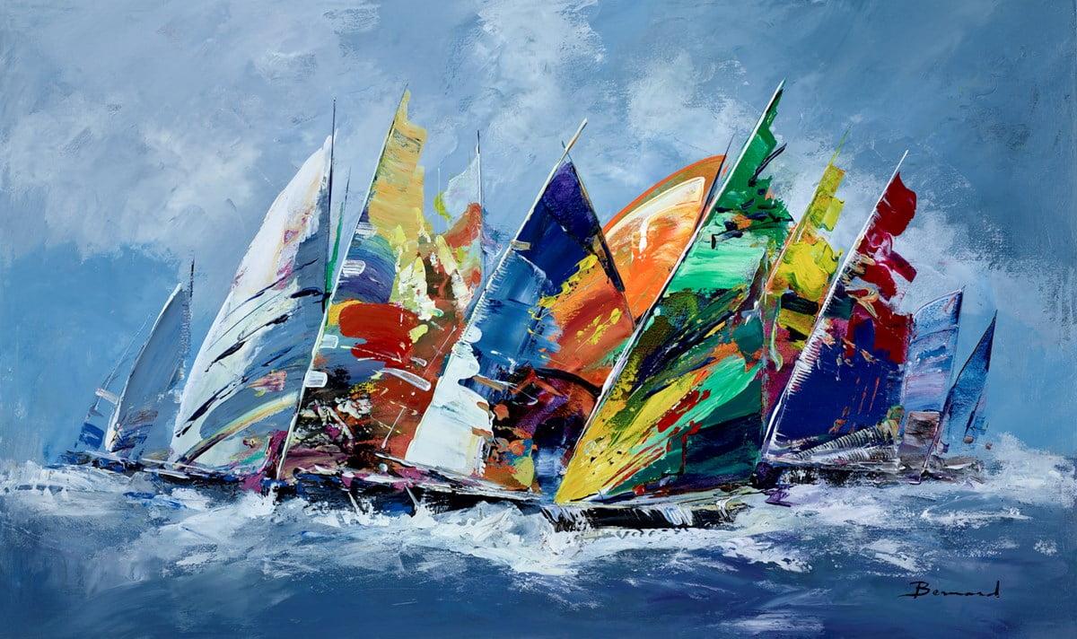 Smooth Sailing II ~ Bernard